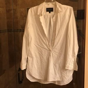 Banana Republic cotton blouse.